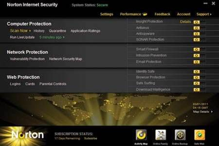 Reviewed: Norton Internet Security 2011