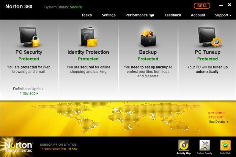 Norton 360 5.0 public beta available now