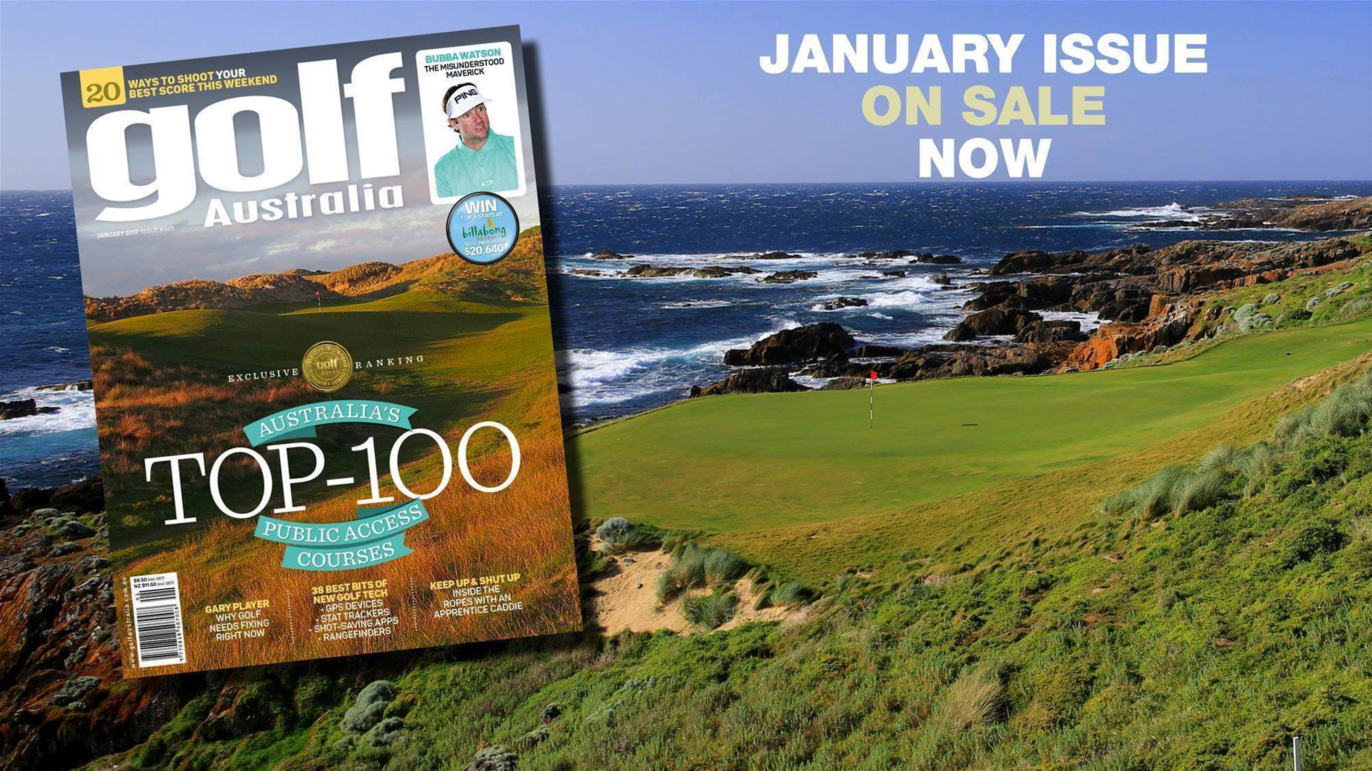 Inside: Golf Australia January 2017