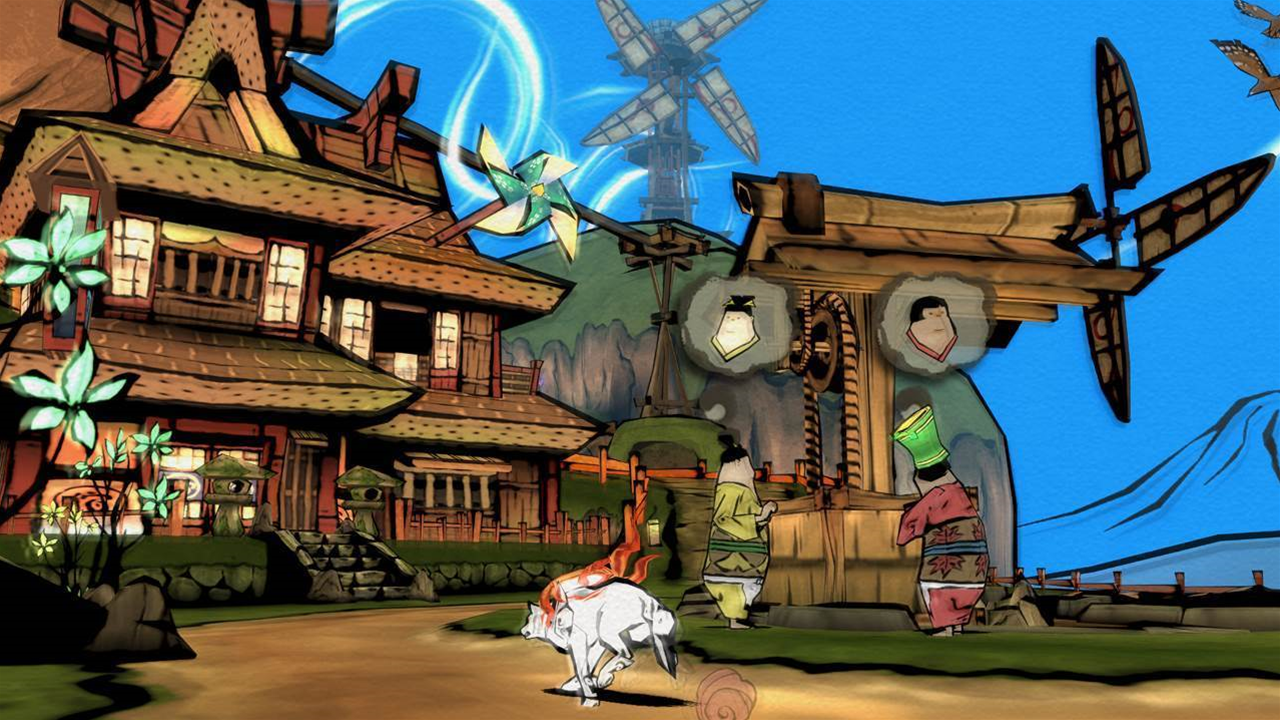 Okami HD (finally) confirmed