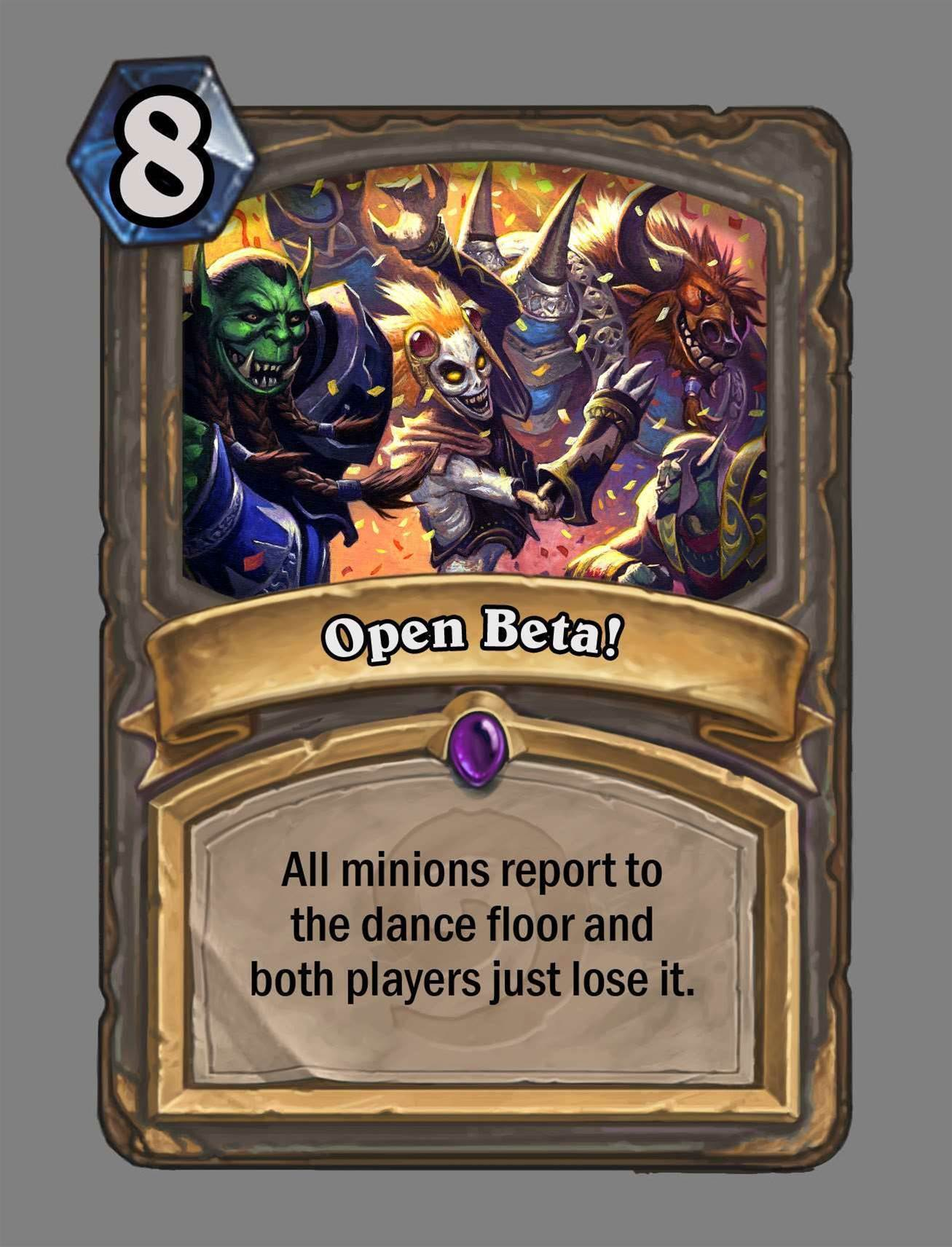 Hearthstone goes into open beta