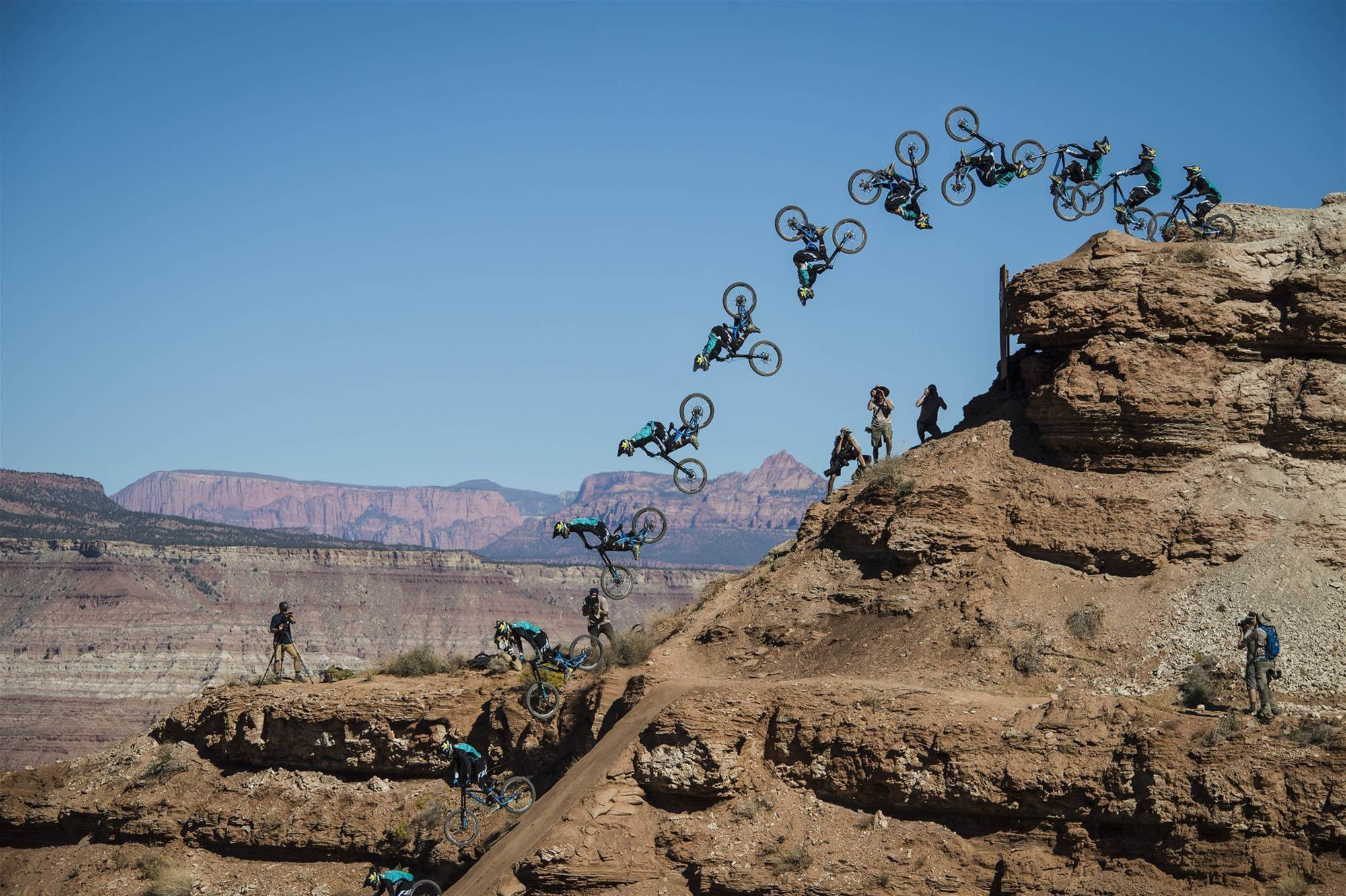 Kurt Sorge wins the 12th edition of Red Bull Rampage