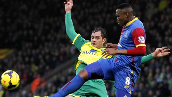 Losing start for Pulis as Palace edged by Norwich