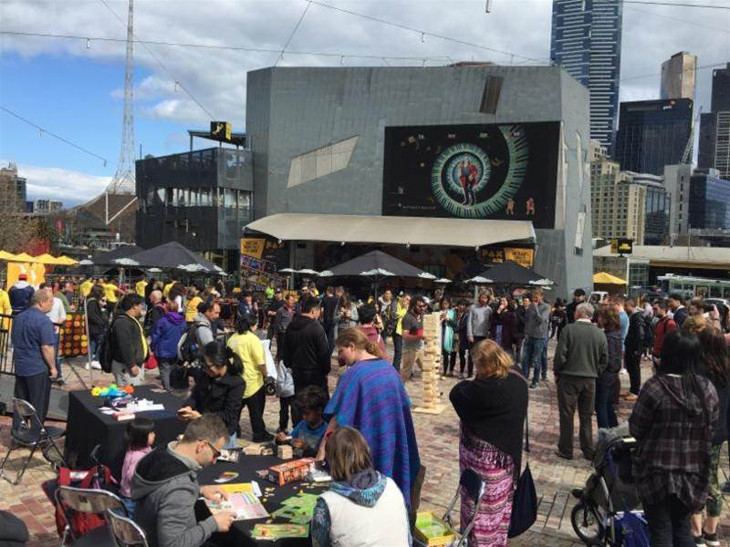 PAX pop-up set to entertain Melbourne's Federation Square this weekend!