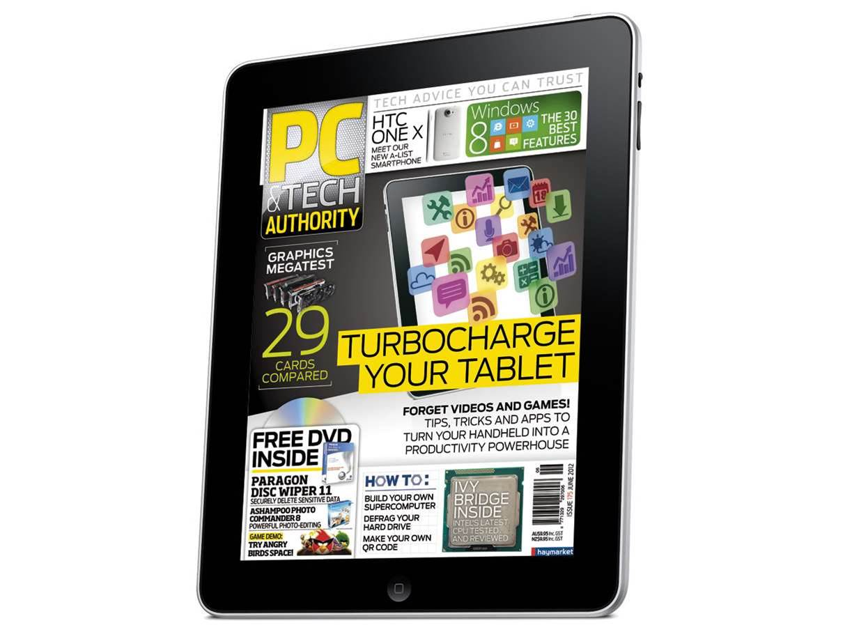 iPad and Zinio editions of PC & Tech Authority out now!