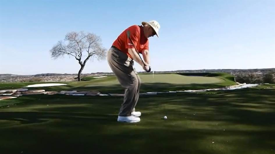 VIDEO TIP: Dave Pelz shows how to stop leaking shots