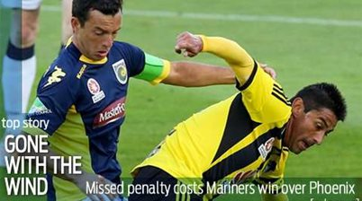 Mariners penalty miss hands Phoenix draw