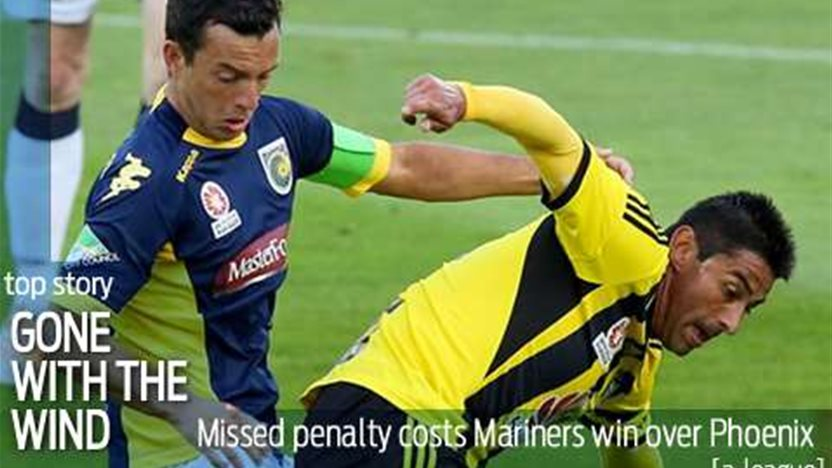 Mariners penalty miss hands Phoenix draw