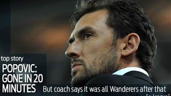 Popovic's positives: We lost but bossed