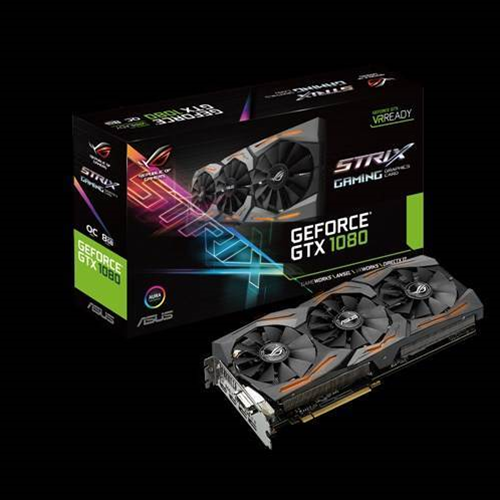 Asus reveals ROG Strix Geforce GTX 1080 Ti video card