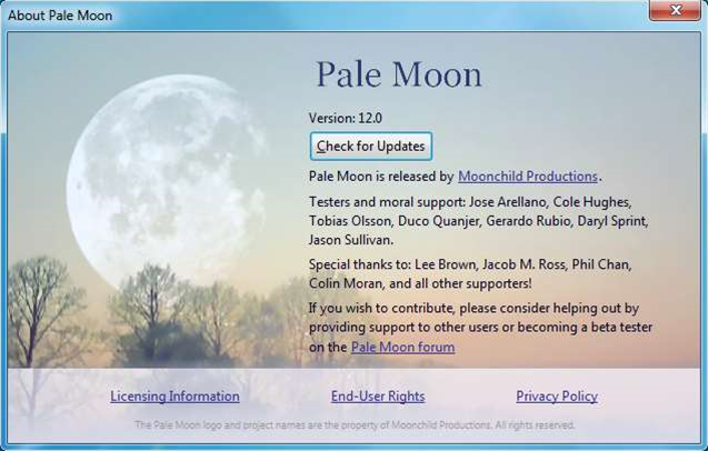Get yourself a faster Firefox: Pale Moon 12 and Waterfox 12 now available