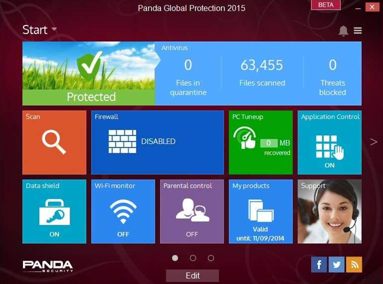 Panda releases Panda Global Protection 2015 beta