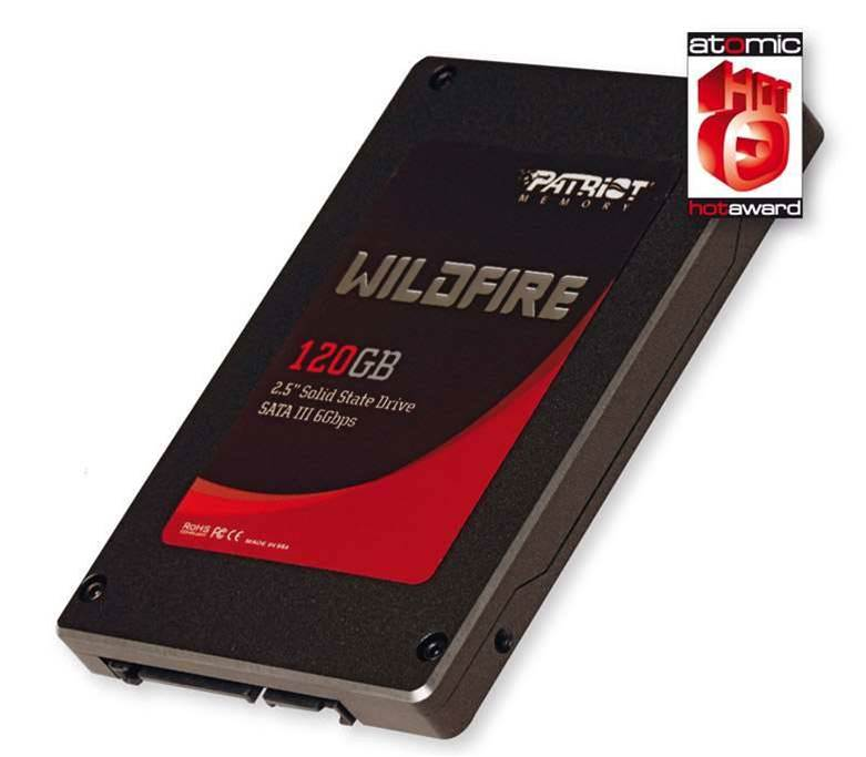 Patriot's Wildfire 120GB SSD - no surprises, just fast