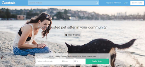 Pawshake is 'Airbnb for pet sitting'