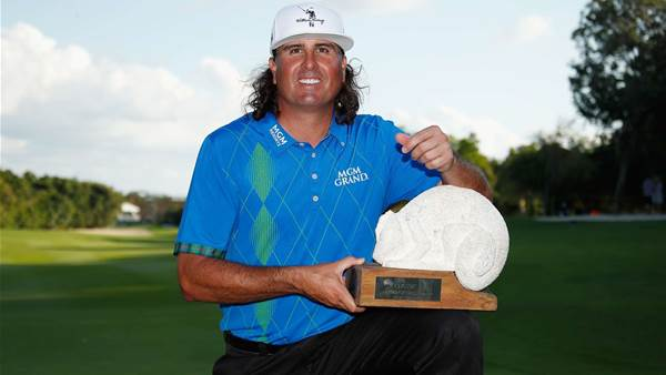 PGA Tour: Perez stays calm, wins first event since '09