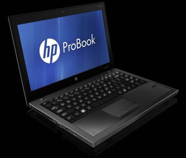 HP unveils Sandy Bridge business laptops