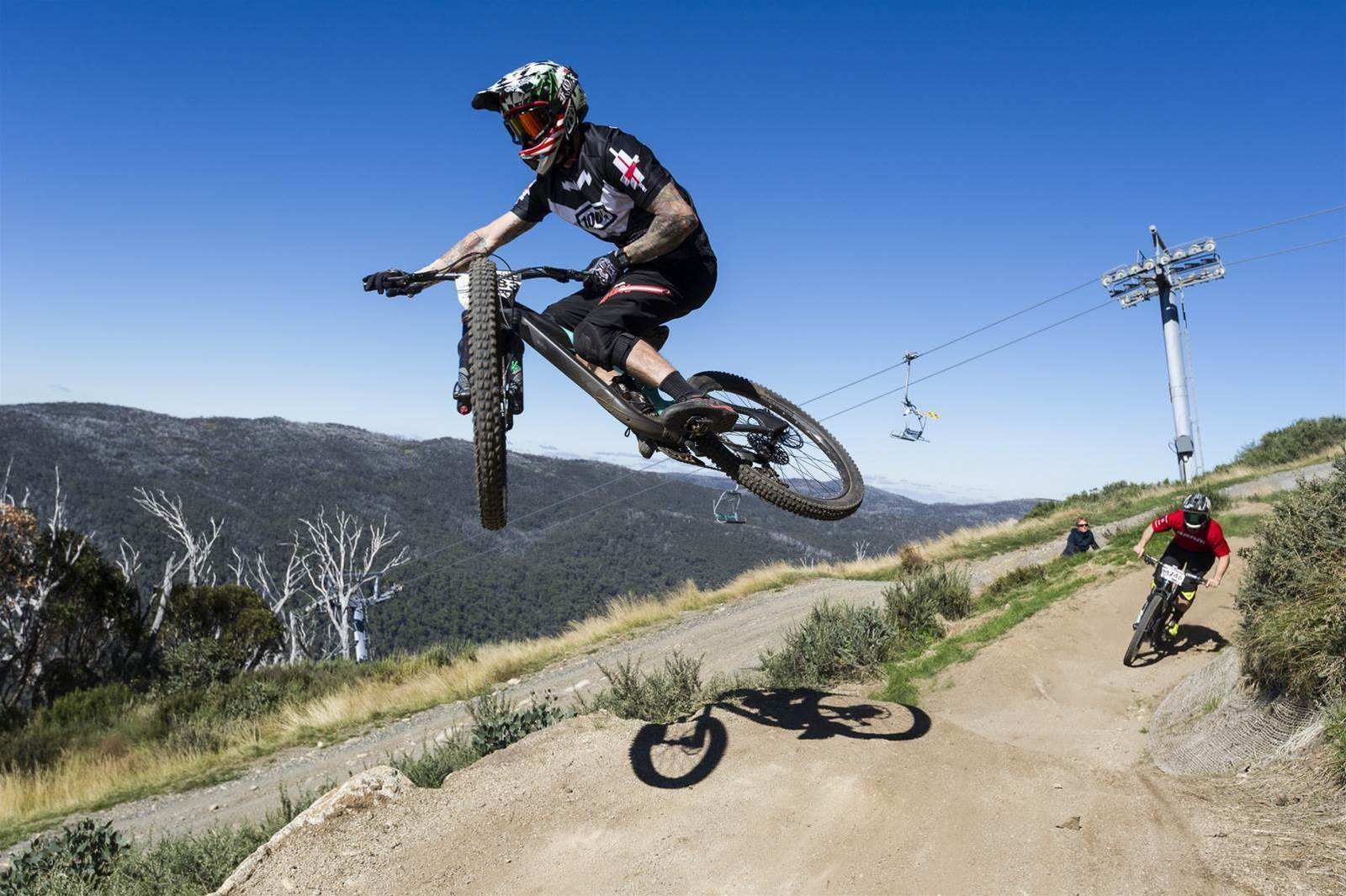 Fox Rollercoaster and RedAss Downhill: Rocky Trail gravity racers descend in Thredbo