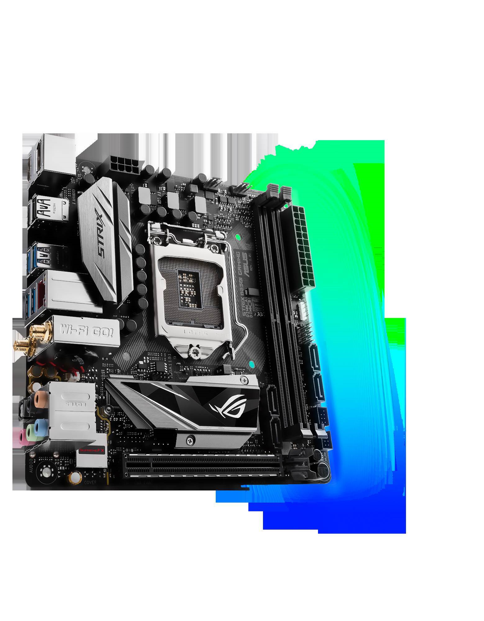 Asus doubles down with two new mini-ITX Strix gaming motherboards