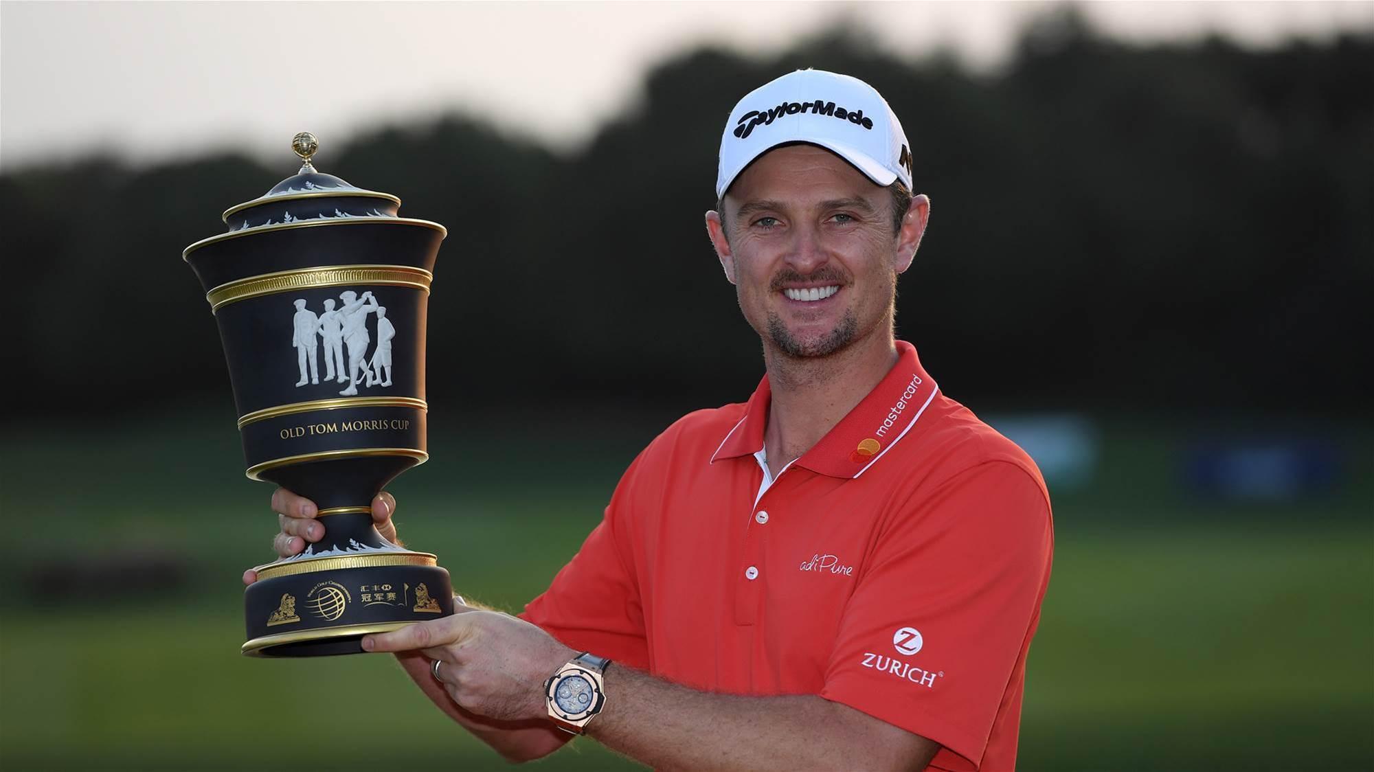 PGA TOUR: Rose comes from nowhere as Johnson stumbles