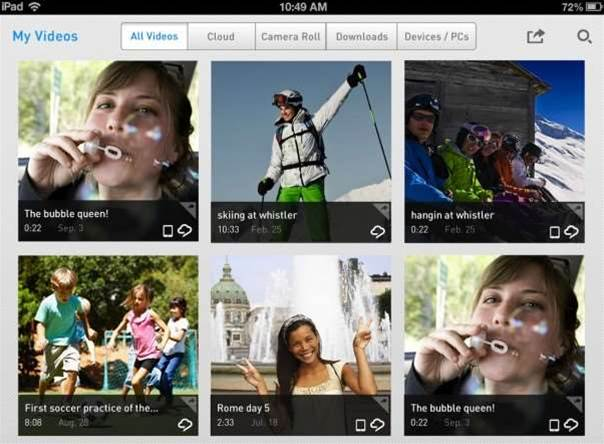 RealPlayer Cloud offers realtime cloud transcoding for video sharing