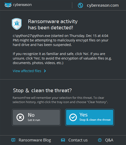 Free new anti-ransomware tool released