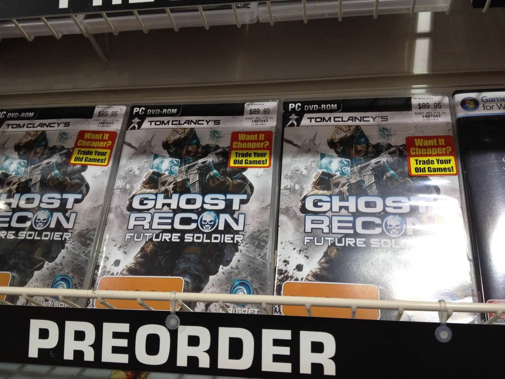 Is Ghost Recon: Future Soldier coming to PC after all?