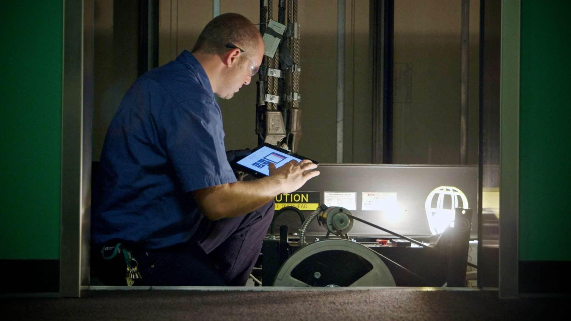 ThyssenKrupp predicts lift maintenance