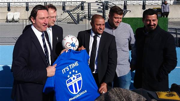 Roberto Carlos unveils vision for South Melbourne