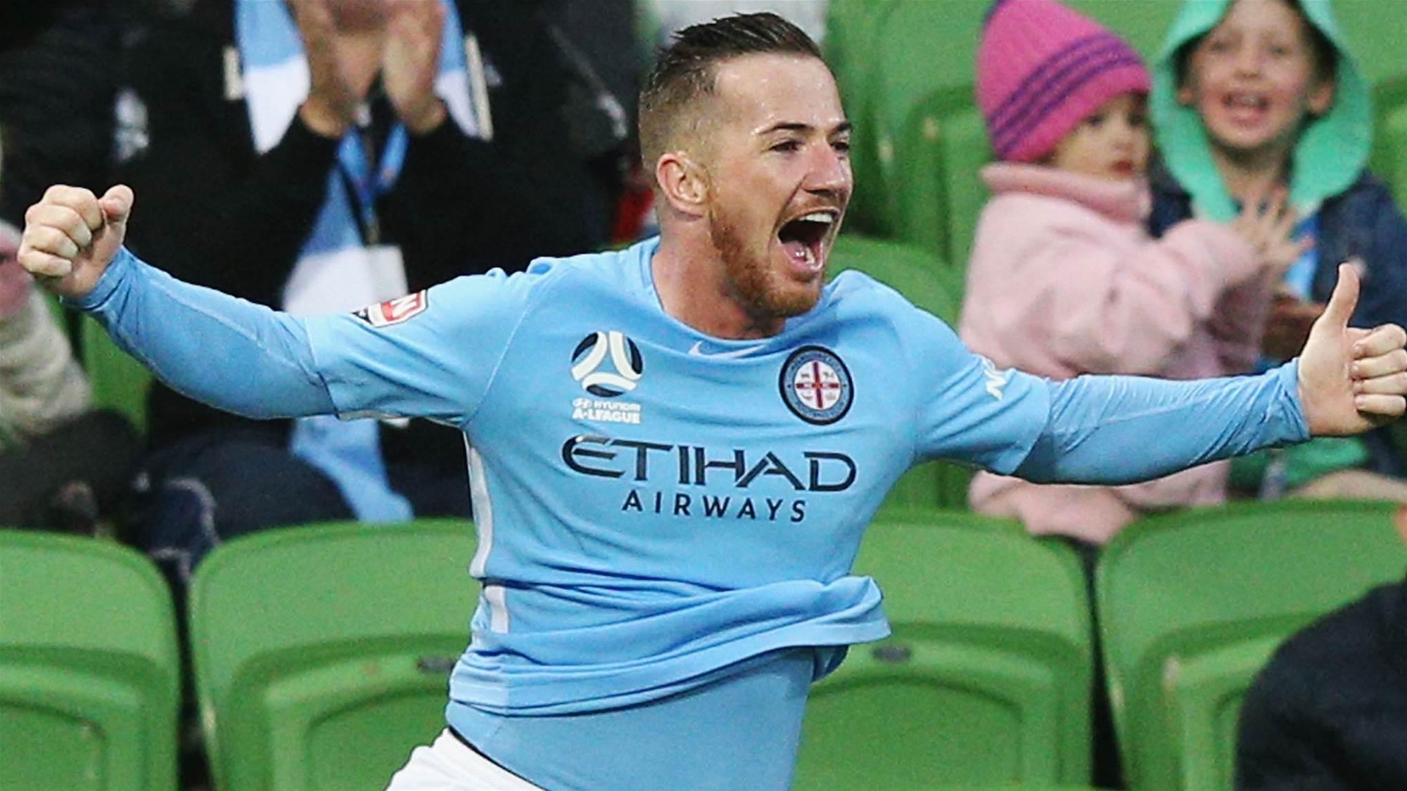 A-League surprises Melbourne City goal hero Ross McCormack