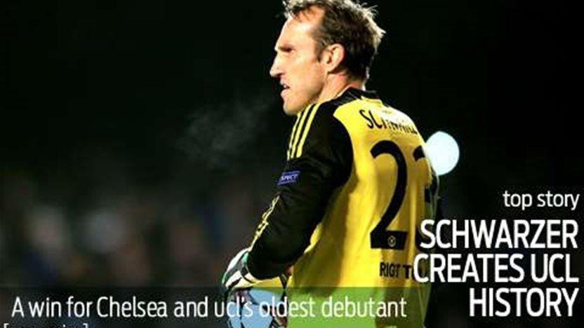 Schwarzer makes Champions League history