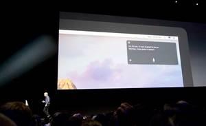 Apple unveils iOS 10, macOS Sierra previews
