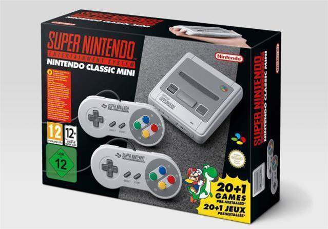 SNES Mini announced by Nintendo