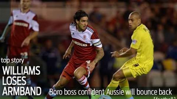 Rio remedy for Williams after Boro snub