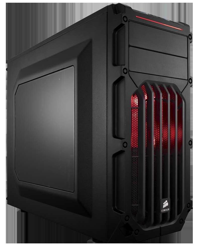 Corsair aims at the budget end of case design, with the Carbide SPEC range