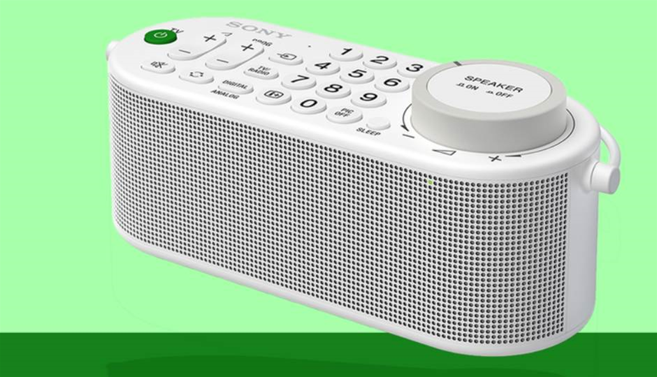 Sony's new TV remote doubles up as a voice-boosting wireless speaker