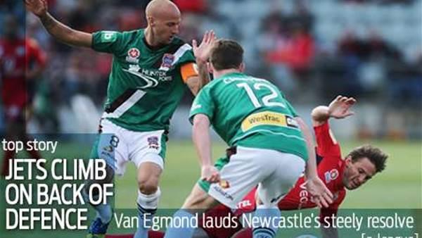Van Egmond: Defence key to Jets rise