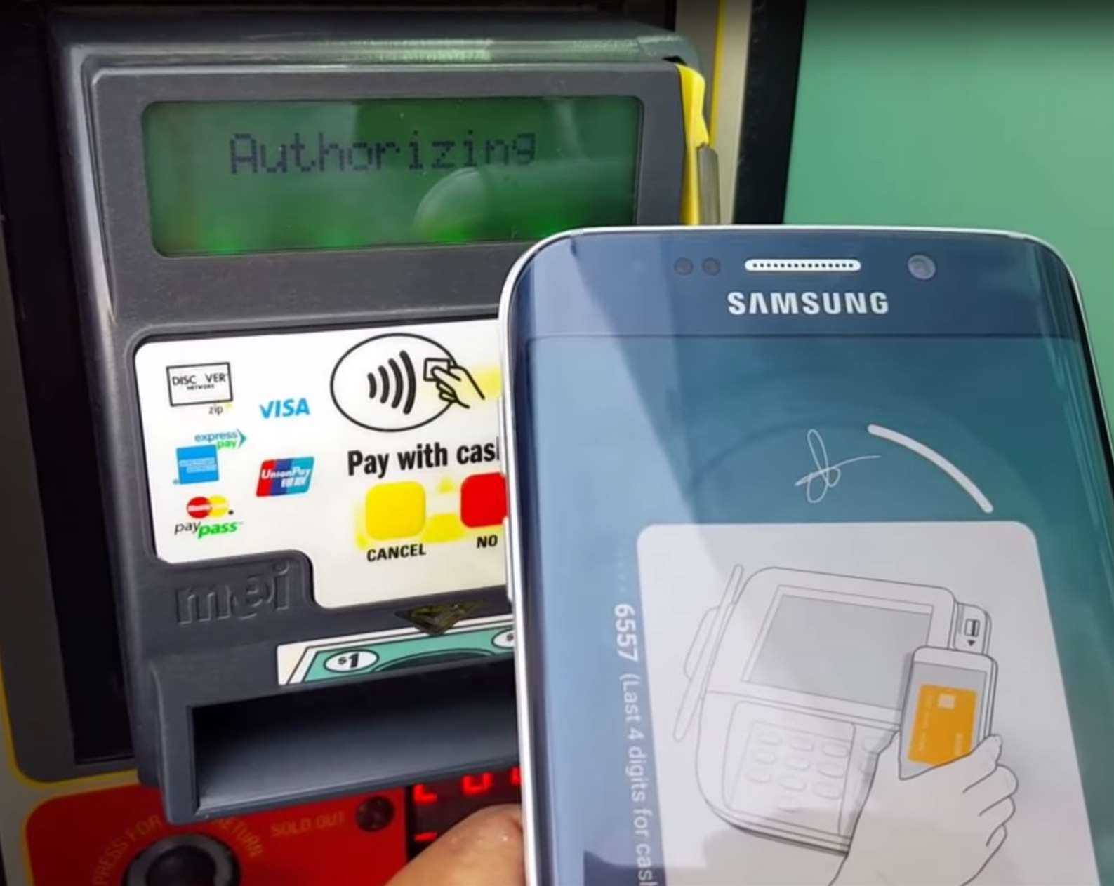 Samsung Pay wireless magnetic stripe tech can be 'skimmed'