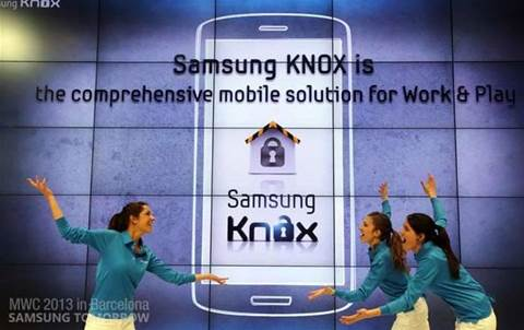 Flaws discovered in Samsung's MDM