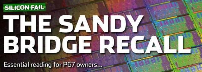 The Sandy Bridge recall - reactions and updates