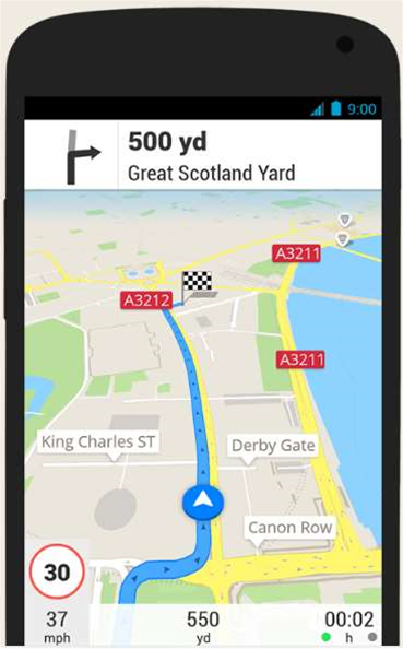 "skobbler's ""Scout"" app takes on TomTom"