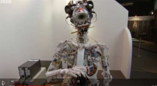 Video: A Robot With a Human Skeleton