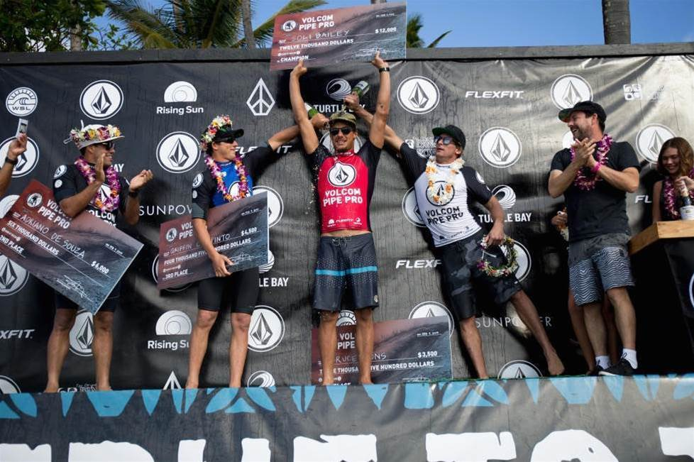 Soli Bailey talks to Tracks about winning the Volcom Pipe Pro