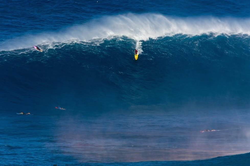Here Are the Biggest Waves Ridden in the Last Year