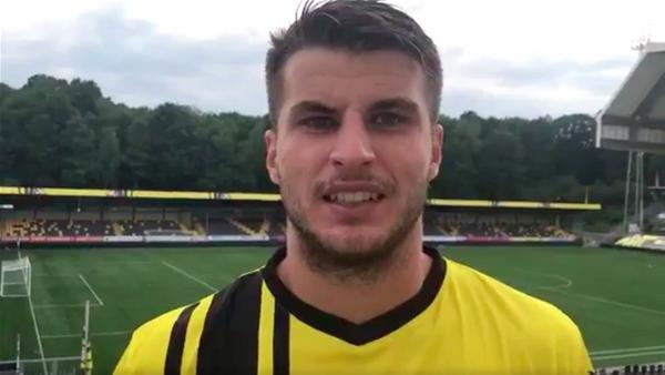 Antonis: New team, new accent