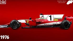 VIDEO: Every Ferrari livery on a modern F1 car
