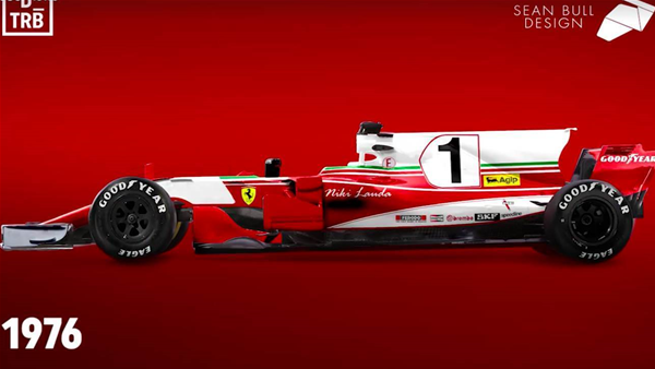 VIDEO: Every Ferrari livery on a modern F1 car