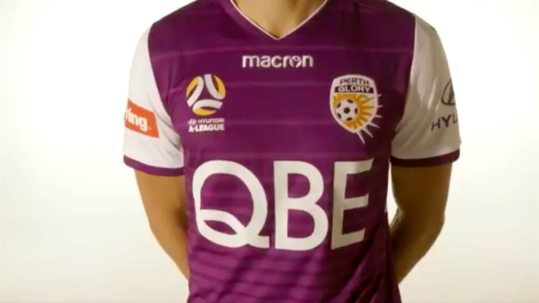 Perth Glory unveil new 2017/18 kits