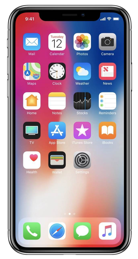 Apple introduces high-end iPhone X