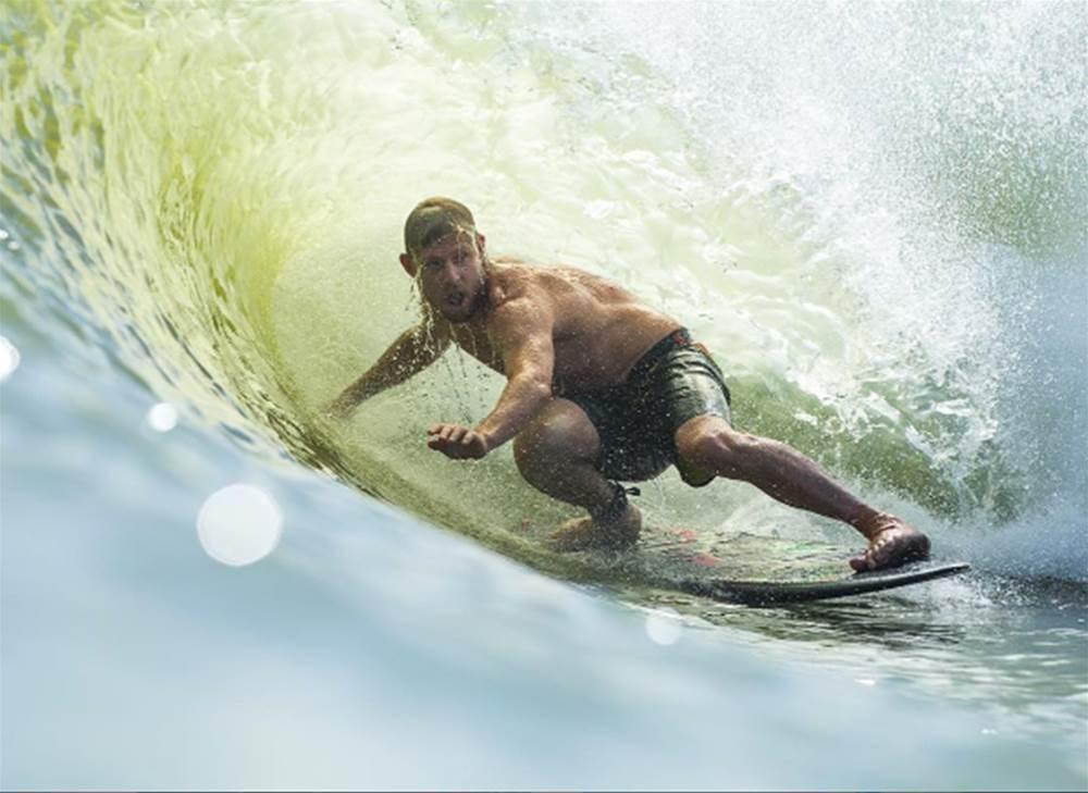 Watch | Mick Fanning Surfs Kelly's Wavepool
