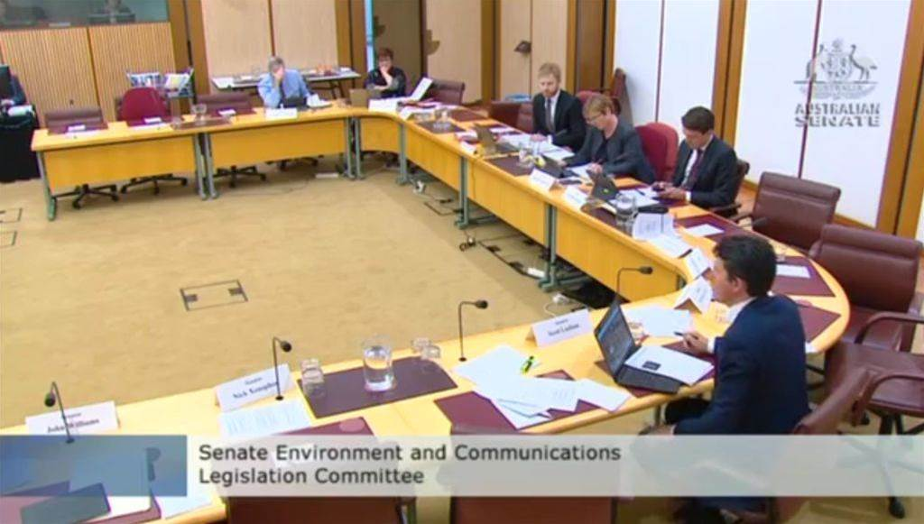 Is a Government response to the Senate gaming inquiry incoming?